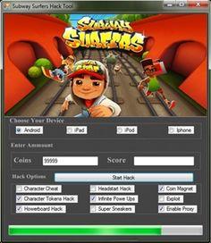 Subway Surfers Hack http://gamesfixer.com/subway-surfers-hack/