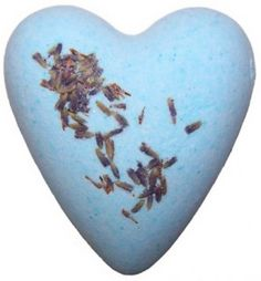 LAVENDER FLOWERS BATH HEART. Megafizz Bath Hearts are fragrant bath additions. Drop   one into your bath and watch it fizz and bubble and add   fragrance (and sometimes flowers or glitter) to your bath. Only £1.99