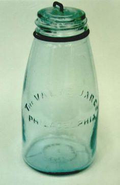 green mason jar #heritagecollection