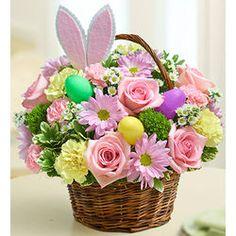Easter Egg Flower Bouquet Basket $39.99