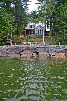 Lake house dream. http://media-cache1.pinterest.com/upload/85075880430883235_JLzIUjc4_f.jpg jldon1128 spaces of dreams