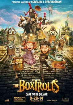 Make Your Own Boxtroll & Enter to WIN a Trip to the L.A. Premier #BuildABoxtrollSweeps
