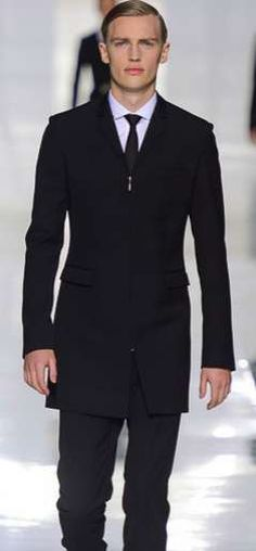 The Dior Homme Fall 2013 Collection Boasts Severe Suits #fashion trendhunter.com