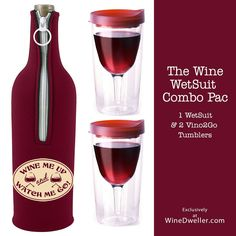 Merlot #Wine WetSuit Combo Pac - ON SALE!!