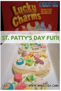 Lucky Charms Cookies {St. Patrick's Day Fun} Recipe