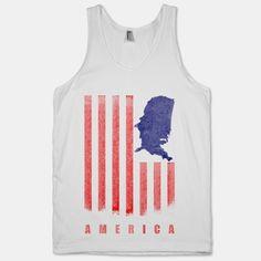 #america #vintage #usa #flag #july #fourth #shirt #star #stripe #tank American Flag