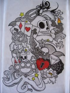 Quarter Sleeve Tattoo Ideas › Card Skull Tattoo Sleeve Design Sketch 8531 Santa Monica Blvd West Hollywood, CA 90069 - Call or stop by anytime. UPDATE: Now ANYONE can call our Drug and Drama Helpline Free at 310-855-9168.