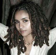 Her dreads are gorgeous!
