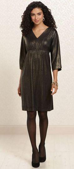 Gold Standard: Dahlia Dress in Gold #SomaIntimates