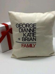 Cute DIY pillow!