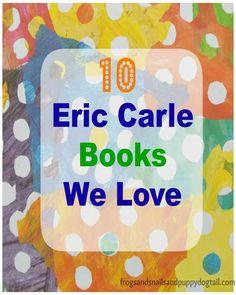 Eric Carle Books We Love