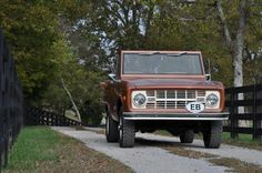 This Early Bronco is keeping it real.  No non sense real.