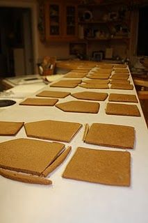 recipe for gingerbread house party idea