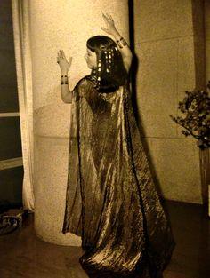 Anne Baxter, costume photo, for Cecil B. DeMille's The Ten Commandments (1956)