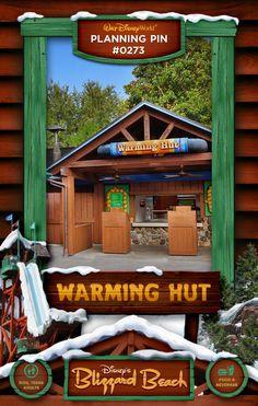 Walt Disney World Planning Pins: Warming Hut