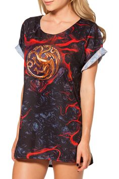 Team Targaryen BFT by Black Milk Clothing $60AUD