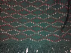 My nephew Richard's afghan I just finished using the Italian Hem stitch for the first time.