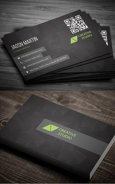 Creative Business Card #businesscards #businesscardtemplates #printready #corporatedesign