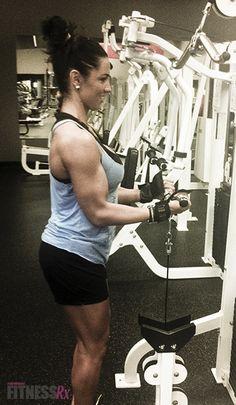 fit bicep, guns, journals, fitness, bicep burnout, heather dee, curls, bodybuilding, biceps