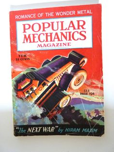 1936 Popular Mechanics Magazine by BonniesVintageAttic on Etsy, $19.00