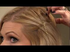 Learn everything you need to know about how to master the bobby pin in this video! I'm excited to clear up some false information out there about the right way to use a bobby pin, and give you a few ideas on various applications.