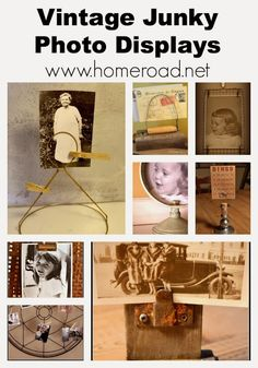 Vintage Kitchen Tool Photo Holders www.homeroad.net