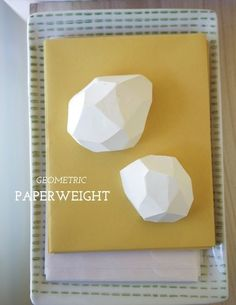 DIY Geometric Paperweight