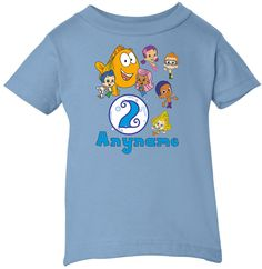 Bubble Guppies Inspired Cute Childrens by PersonalizedDesigns1