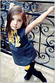 girl cloth, children cloth, yellow tight, kid cloth, yellow ruffl, dresses, vintag yellow, buttons, eleg gray