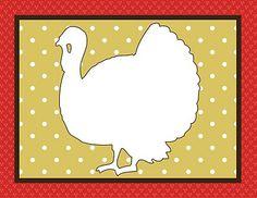 Free Printable Kids Craft – Thanksgiving Placemats