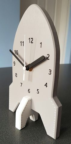 Rocket Clock - Can be customised.