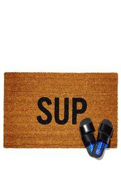 Sup Doormat. get a discount: http://www.studentrate.com/itp/get-itp-student-deals/Nasty-Gal-Student-Discounts--/0 <3