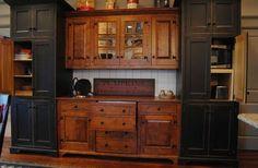 St. Louis 10 primitive Log Cabin Kitchen