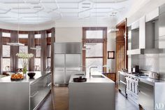 Boston Townhouse Kitchen