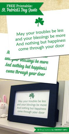 Free St. Patrick's Day Printable by BitsyCreations for Somewhat Simple #freeprintable #stpatricksday