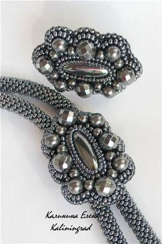 Галстук-боло и немного по мелочи. | biser.info - всё о бисере и бисерном творчестве bead