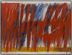 """Jack Tworkov (American, born Poland, 1900–1982), """"West 23rd,"""" 1963, oil on canvas, 60"""" x 6' 8."""" The Museum of Modern Art, New York. Purchase © Estate of Jack Tworkov, courtesy Mitchell-Innes & Nash, New York."""