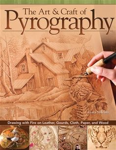 Although it is often referred to as woodburning, the art of pyrography can be worked on just about any natural surface, including gourds, leather, or cotton rag paper. Now Lora Irish, the author of the bestselling Great Book of Woodburning, offers thirty-five amazingly detailed new projects that explore the craft of pyrography across the full range of inventive pyro media