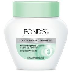Ponds Cold Cream Cleanser, amazing product!