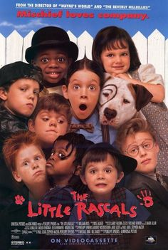 """The Little Rascals"" Re-Created Their Movie Poster 20 Years Later."