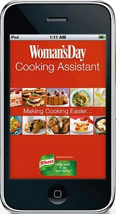Free Woman's Day Cooking iPhone App!