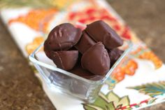 Barefeet In The Kitchen: Chocolate Covered Banana Bites