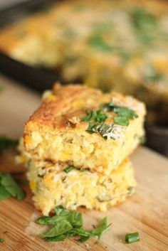 healthy jalapeno & cheese corn bread: gotta get your corn bread on in the south...
