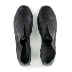 Kudeta 311518 (Black) - flat laceless oxfords - resoul.com