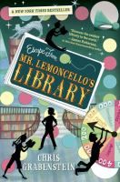 """<2013 pin> Escape from Mr. Lemoncello's library by Chris Grabenstein. SUMMARY:  """"Twelve-year-old Kyle gets to stay overnight in the new town library, designed by his hero (the famous gamemaker Luigi Lemoncello), with other students but finds that come morning he must work with friends to solve puzzles in order to escape""""-- Provided by publisher."""