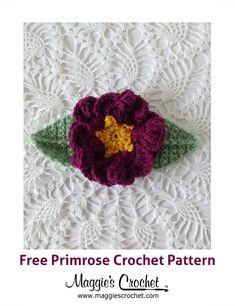 Free Primrose Crochet Patter from Maggie's Crochet