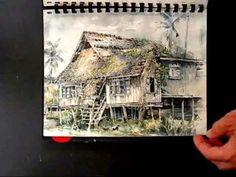 Keith Miller, Sketchbook, S.E.Asia - YouTube