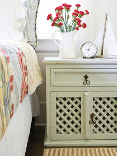 The Power of a Sanding Block in Cottage-Style Decorating: 16 Fresh and Simple Design Ideas from HGTV