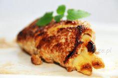 Szparagi zawijane w sznycel z indyka, szparagi, sznycel indyka, szparagi z mięsem, asparagus, turkey schnitzel, turkey, asparagus with the meat