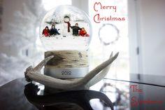 How to create a snowglobe christmas card using photoshop    ©RiciStu
